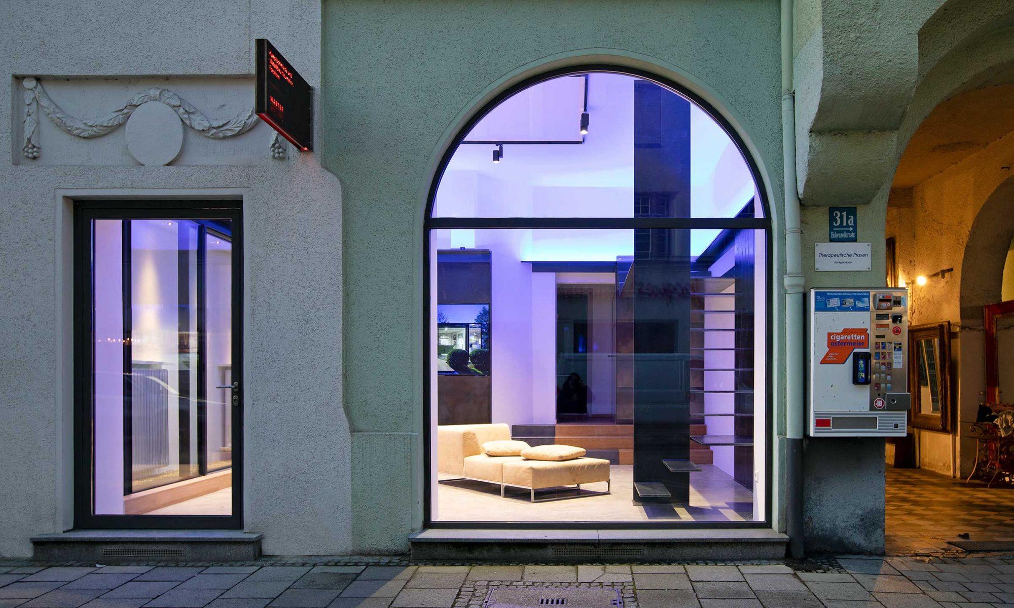 Showroom Metalltreppen München